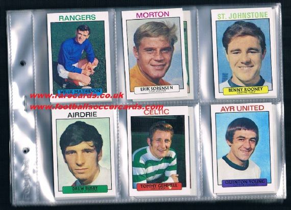 1971 A&BC Scottish 1st set 1-73 VG